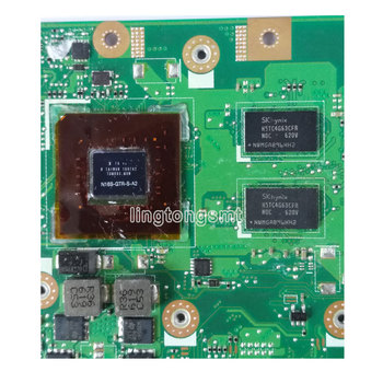 For ASUS X556UJ X556U X556UV X556UB X556UR X556UV REV:3.1/3.0 Laptop Motherboard CPU i5-6200U GeForce 920M 2GB tested