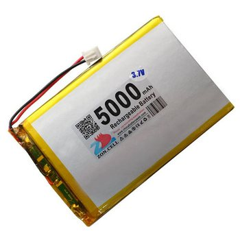Shenzhen technology 5000mah 3.7v lithium polymer battery li po ion lipo rechargeable batteries for tablet PC/GPS/POWER BANK/DIY