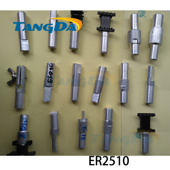 Tangda ER ER2510 Jig fixtures Interface:12mm for Transformer skeleton Connector clamp Hand machine Inductor Clips